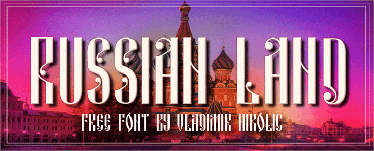 Image for Russian Land font