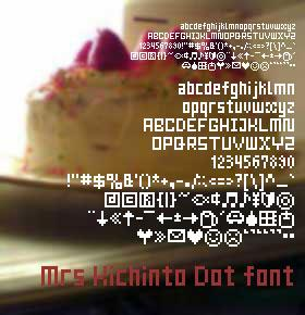 Image for Mrs Kichinto font