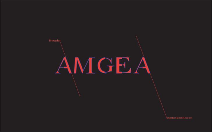 Image for AMGaea  font