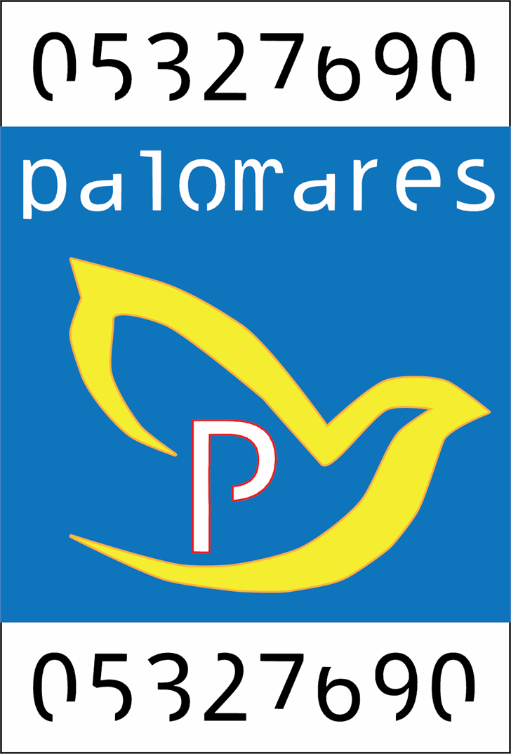 Image for palomares font