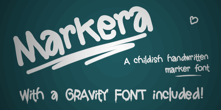 Image for Markera  font