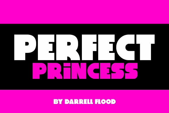 Perfect Princess font by Darrell Flood