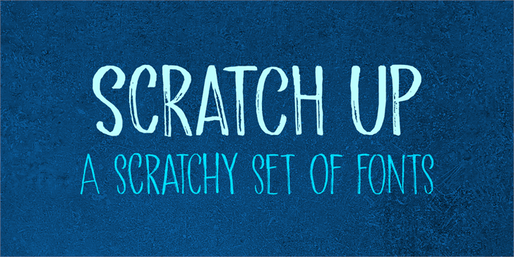 Image for Scratch Up DEMO font