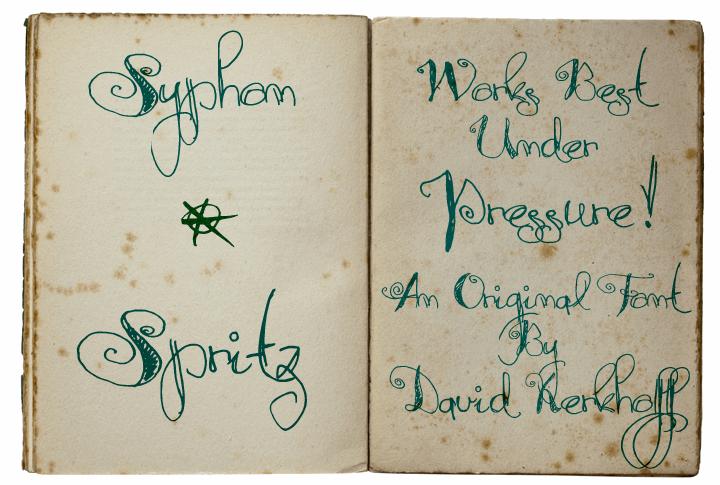 Image for Syphon Spritz font