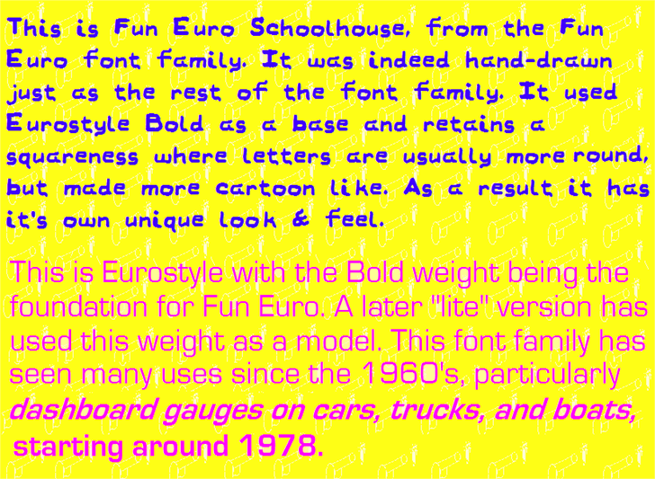 Image for Fun Euro font