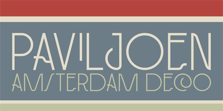 Image for DK Paviljoen font