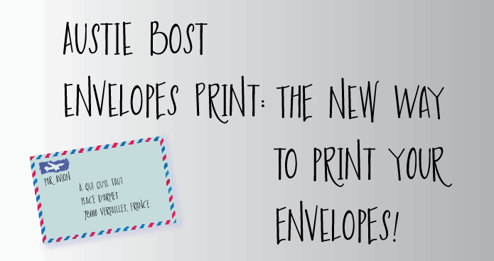 Image for Austie Bost Envelopes Print font