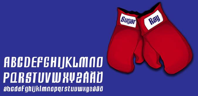 Image for Sugar Ray font
