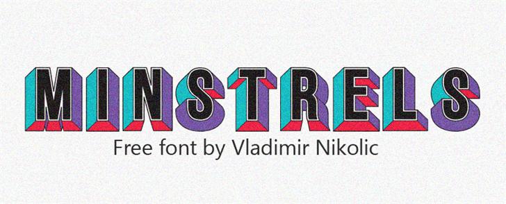 Image for Minstrels font