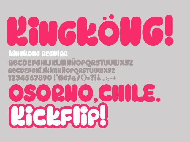 Image for Kingköng font