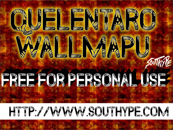 Quelentaro Wallmapu St font by Southype