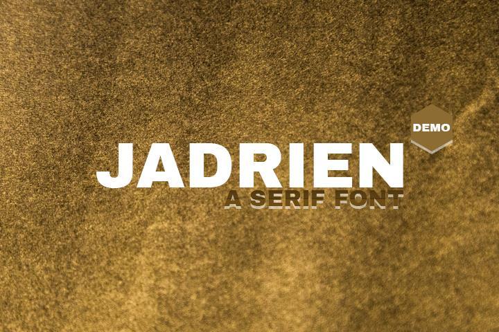 Jadrien Demo font by Creativetacos