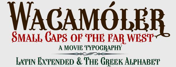 Image for Wacamóler Caps font
