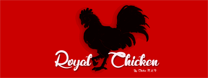 Image for Royal Chicken font