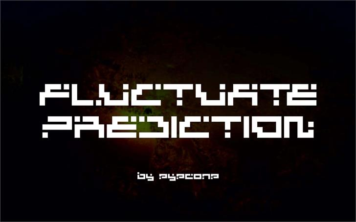 Fluctuate Prediction font by eyecone