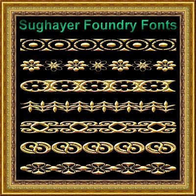 Image for Vintage Borders_09 font
