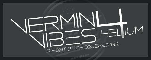 Image for Vermin Vibes 4 Helium font