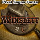 Winslett font by Pixel Sagas