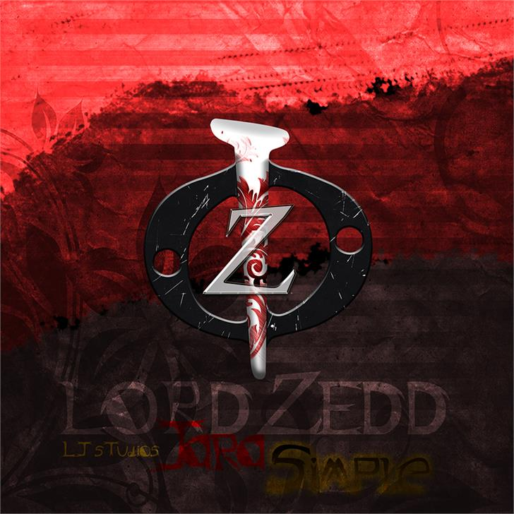 Image for Lord ZeDD - LJ Studios font