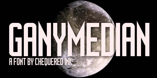 Image for Ganymedian font