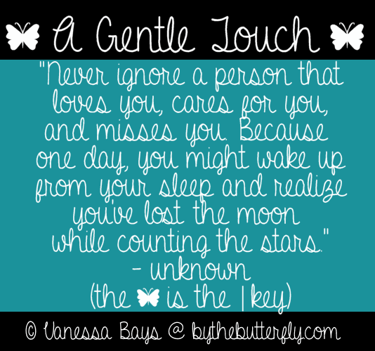 A Gentle Touch font by ByTheButterfly