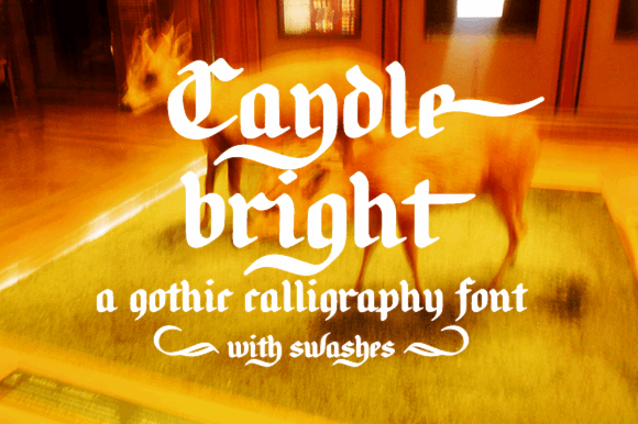 Image for Candlebright font