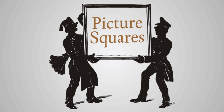 Picture Squares font by Intellecta Design