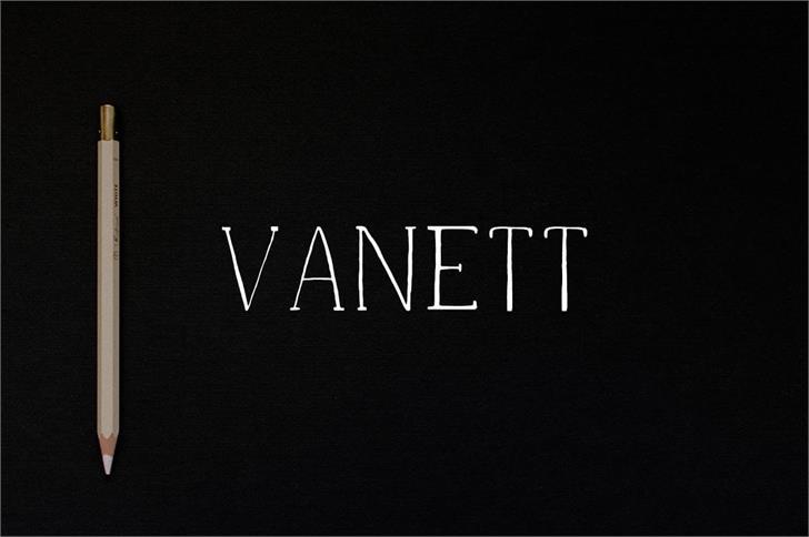 Image for Vanett Demo font