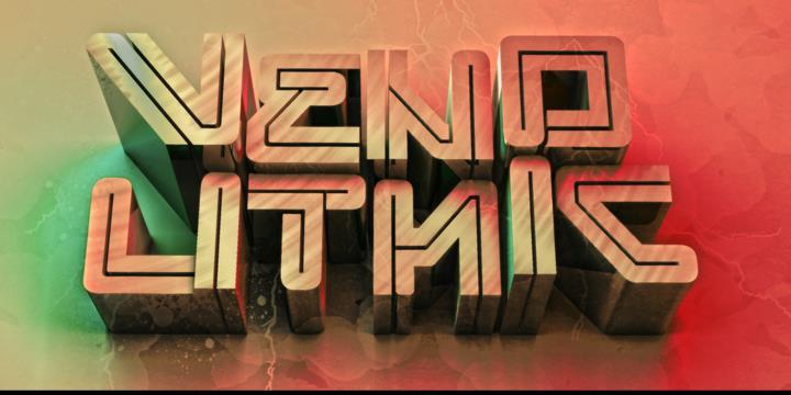 venolithic font by seventhimperium