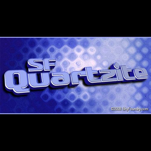 Image for SF Quartzite font
