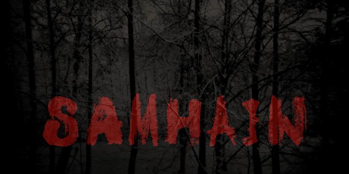 Image for DK Samhain font
