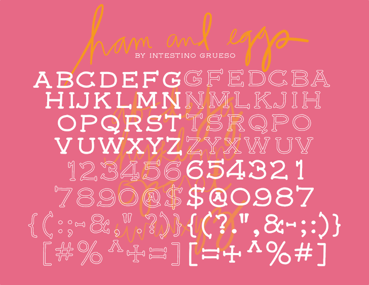 font5 font by IntestinoGrueso