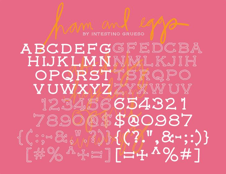 Image for font5 font