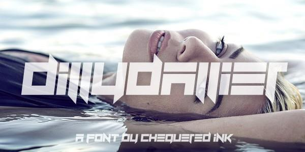 Dillydallier font by Chequered Ink