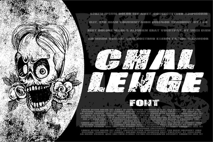 Vtks-Challenge font by VTKS DESIGN