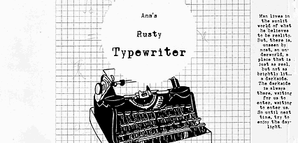 Image for Ana's Rusty Typewriter font