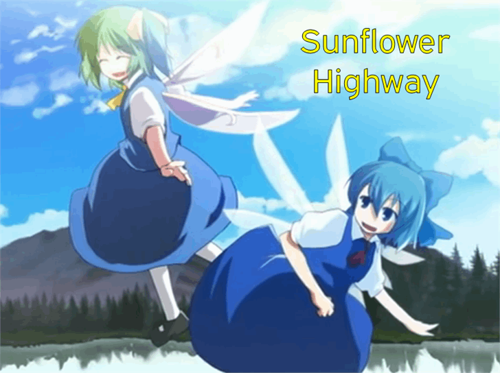 Image for Sunflower Highway font