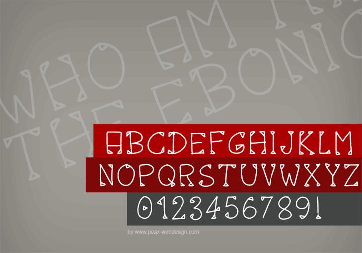 Image for PWOctober font