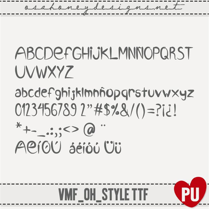 Image for VMF_Style_ttf font