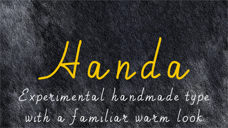 Image for Handa font
