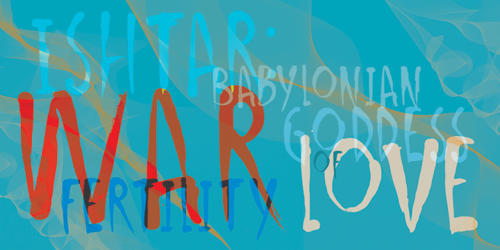 Image for DK Ishtar font