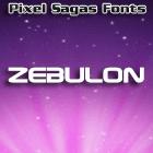 Zebulon font by Pixel Sagas