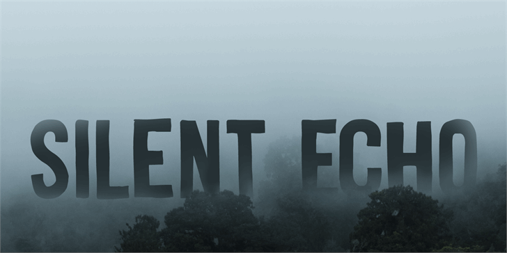 Silent Echo DEMO font by David Kerkhoff