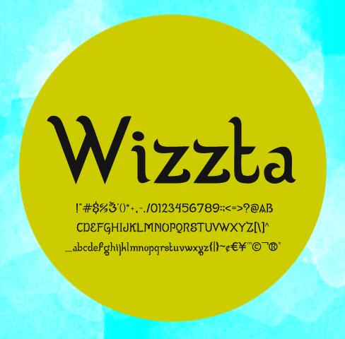 Image for Wizzta font
