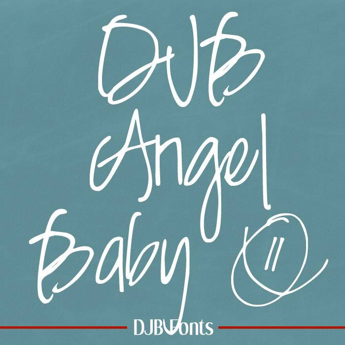 Image for DJB Angel Baby font
