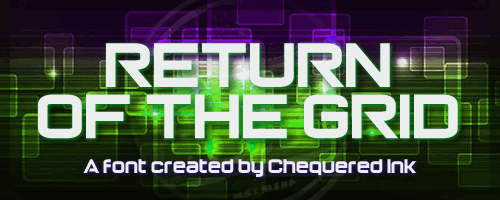Image for Return of the Grid font