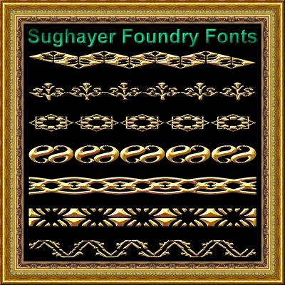 Image for Vintage Borders_08 font