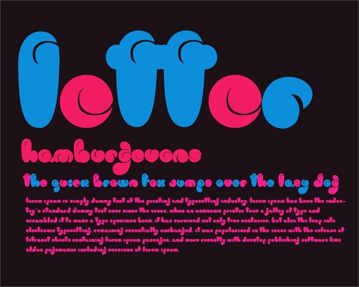 Image for logo font
