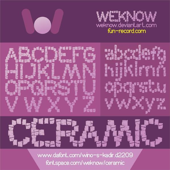 Image for CERAMIC font
