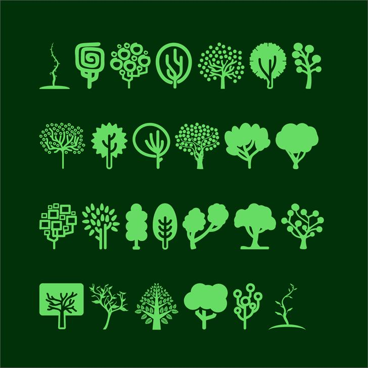 Image for Trees Go 2 font